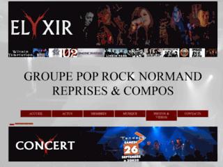 Elyxir, groupe pop rock Caennais