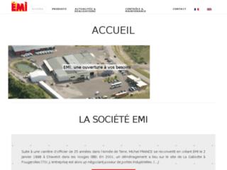 Détails : Portes souples EMI