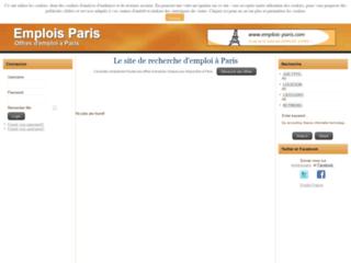 Détails : Trouver l'emploi adéquat sur Paris