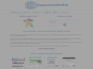 Détails : Empreintes Du Web, annuaire généraliste gratuit