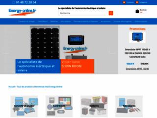 Achetez des équipements pour énergie sur Energy Online