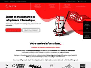 Enova - Maintenance informatique Lille