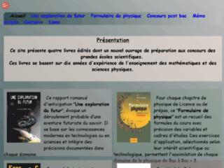 Livres pour étudiants en mathématiques et sciences physiques