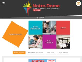 Détails : Ecole privée metz - lycée privé metz : Notre Dame de Peltre