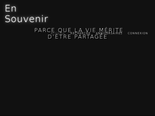 Nécrologie - Album de vie - Avis de Décès - Hommages aux êtres disparus