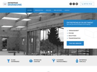 Entrepreneur-degraeuwe.be : entreprise spécialisée en travaux de terrassement à Saint-Gérard, une prestation de qualité