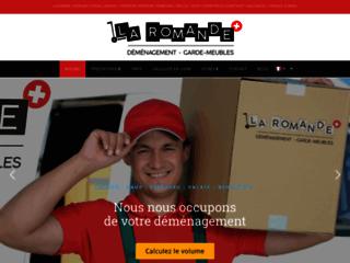 Détails : La Romande, garde-meubles de déménagement