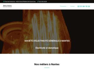 Entreprise d'électricité à Nantes