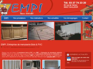 Détails : EMPI : menuiserie plâtrerie dans le Nord