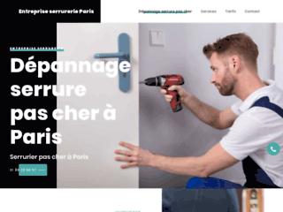 Entreprise serrurerie paris, Dépannage serrure en urgence