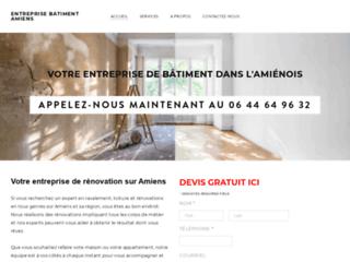 Entreprise de bâtiment à Amiens