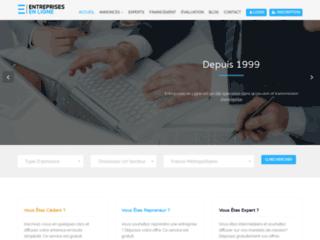 Détails : Entreprises en ligne | Ventes, cessions, reprises et acquisitions de PME, PMI, société et commerces