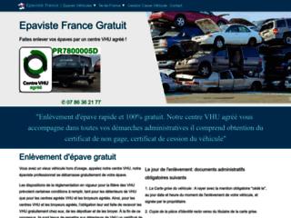 Epaviste France, enlèvement gratuit d'épave par épaviste agréé VHU