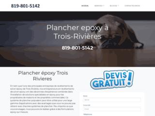 Plancher epoxy à Trois-Rivières