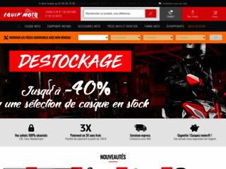 Equip'Moto, vente d'accessoires pour moto de la marque Honda