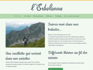 Détails : L'Erbolanna, cueilleuse de plantes alpestres en Gruyère