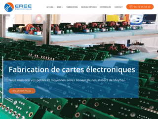 Détails : EREE: Etudes et réalisations électriques et électroniques