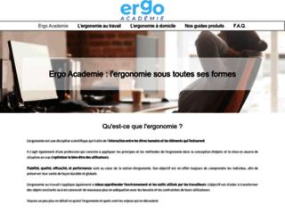 Ergo Academie, le site de référence en matière de meubles ergonomiques