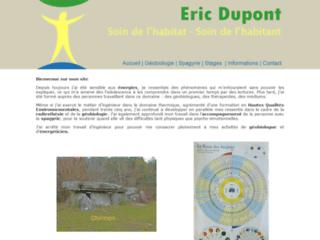 Eric Dupont géobiologue