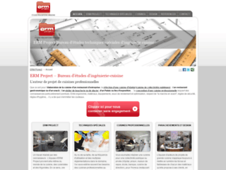 Détails : ERM Project, bureau d'ingénierie-cuisine professionnelle