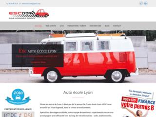 Détails : Auto école Lyon ESC