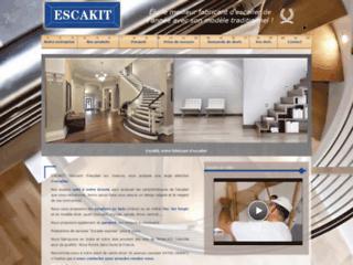 Détails : Escakit France, fabricant professionnel d'escaliers