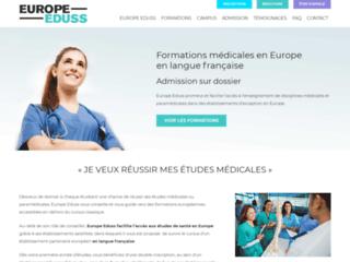 Formation dans les métiers de la santé