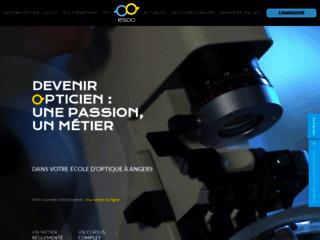 Ecole d'optique à Angers Esoo