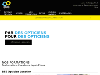 Formation BTS lunetier