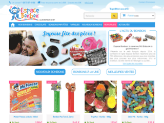 Détails : Espace Bonbon, vente en ligne de friandises et confiseries