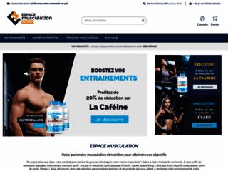 Détails : Le site de la musculation