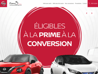 Espace Nissan - Concessionnaire véhicules Rennes