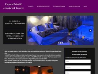 Détails : sauna privatif