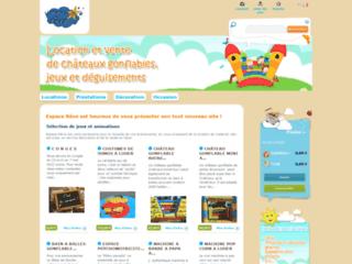 Détails : Châteaux gonflables et animations pour vos événements