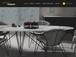 Espace Meubles, des meubles chics et élégants pour embellir votre intérieur