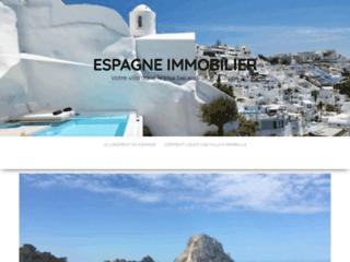 Détails : Immobilier Espagne: vente maison Espagne