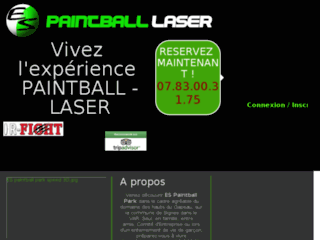 Détails : ES paintball park