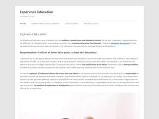 Espérance banlieues et son blog Espérance Education
