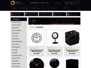 La boutique en ligne des caméras espions les plus insolites