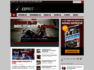 Détails : Esprit JJB, blog sur le jiu jitsu brésilien