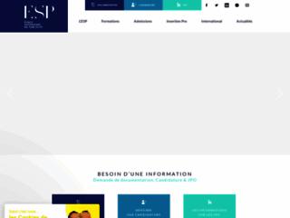 Détails : L'ESP une école de marketing qui vous ouvre ses portes à Paris