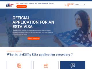 Détails : Formulaire de demande ESTA USA en Français