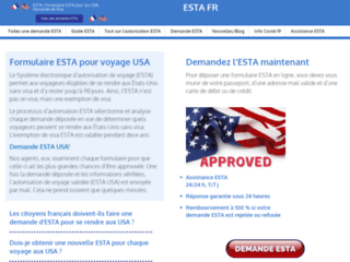Détails : Remplir une Demande ESTA pour Partir aux Etats-Unis