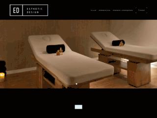 Détails : Esthetic Design, tables de massage et kinésithérapie