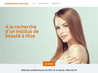 Esthéticienne sur Nice