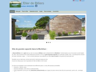 Gite grande capacité Morbihan