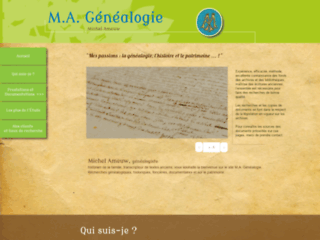 Détails : M.A. Généalogie