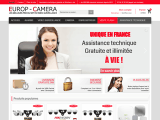 Europ Camera: bien choisir un système de surveillance
