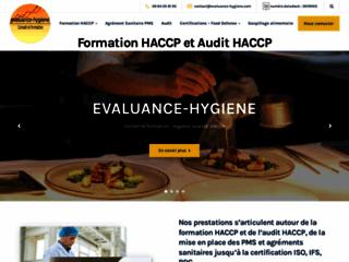 structure de référence dédiée aux formations HACCP