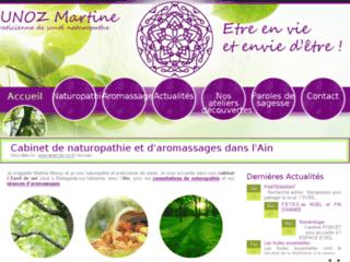 Détails : Martine Munoz, massages bien-être et naturopathie, Bellegarde-sur-Valserine
